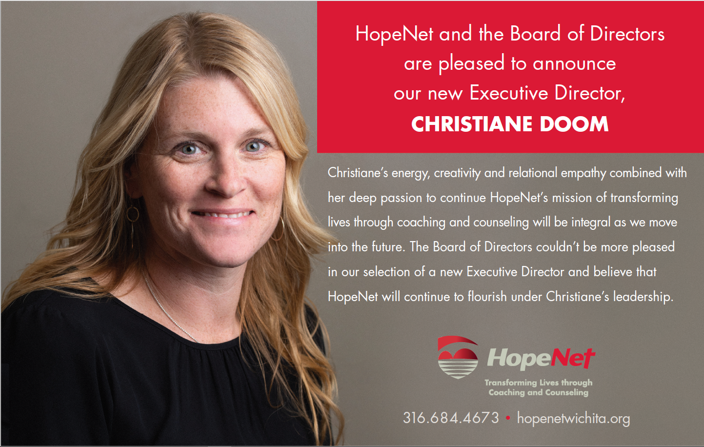 Announcing New Executive Director